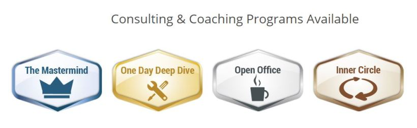 Consulting and Coaching programs